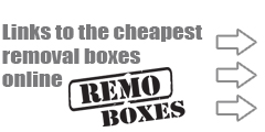 Remo Boxes cheapest removal boxes uk