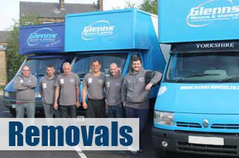 Removals in Leeds from Glenns Movers
